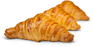 croissant made with Dolcélite Croissantoro